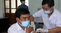 Nghệ An: Tiêm vaccine phòng Covid-19 đầu tiên tại huyện miền núi nơi có 3 ca nhập cảnh dương tính