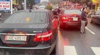 """Hai xe ô tô trùng biển """"chạm mặt"""": Lộ đường dây làm giả giấy tờ xe hết sức tinh vi"""