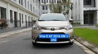 Toyota Vios E đời 2016 màu vàng cát, rao bán giá bất ngờ