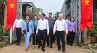 Ủy viên Bộ Chính trị Trần Cẩm Tú kiểm tra công tác bầu cử tại Bình Phước