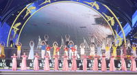 Ninh Bình: Khai mạc Năm Du lịch với các tiết mục biểu diễn nghệ thuật đương đại kết hợp trò diễn dân gian