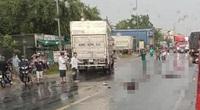 Kinh hoàng xe tải tông trực diện 2 xe máy, 2 người chết thương tâm