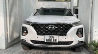 Hyundai Santa Fe biển siêu đẹp, chạy 2 vạn, rao bán giá choáng