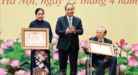 Chủ tịch nước Nguyễn Xuân Phúc trao tặng danh hiệu cao quý cho các nhà khoa học