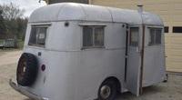 Xe cắm trại sang trọng hiếm có, hơn 90 năm vẫn giá trị cao