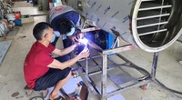 Thanh Hóa: Bỏ lương nghìn đô về quê chế tạo ra loại máy sấy thăng hoa, 9X vẫn kiếm tiền tỷ như thường