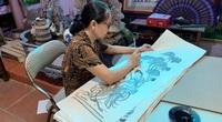 Về Đông Hồ thăm gia đình nữ nghệ nhân duy nhất của 62 làng nghề cả nước