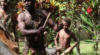 """Đàn ông Vanuatu thời trang duy nhất là vỏ bọc """"của quý"""""""