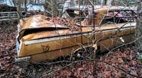 Chiếc xe Chevrolet cổ cực hiếm bất ngờ được tìm thấy, chỉ còn là đống sắt vụn vẫn rao bán trăm triệu