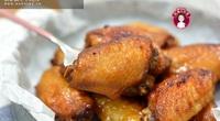 Cánh gà nướng mật ong, món ngon đã miệng mà không sợ béo