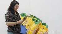 Hồi sinh giống lúa cổ truyền bằng phương pháp đột biến, ra gạo có màu hồng, bán giá 25.000 đồng/kg