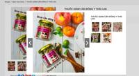 Thuốc giảm cân, nước hoa kích dục vẫn được rao bán trên chợ điện tử Shopee, Lazada
