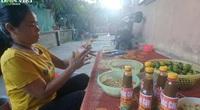Hà Tĩnh: Ruốc cáy Trung Lương ngon nức tiếng, sản xuất không kịp để bán