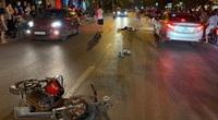 Hải Dương: Lái xe gây tai nạn liên hoàn làm chết 1 nữ sinh và nhiều người bị thương
