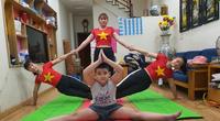 Tập thể dục mùa dịch Covid -19: Trung tâm, giáo viên đều dạy online