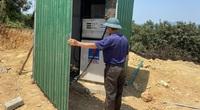 Hà Tĩnh: Phát hiện bồn chứa và cột bơm dầu trái phép đặt ngay trong vườn nhà dân