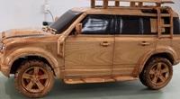 """Tròn mắt thợ mộc Việt Nam làm """"bản sao"""" xe sang Land Rover tuyệt đỉnh"""