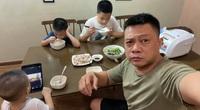 """Cười đau bụng với cảnh """"khi con nghỉ học ở nhà tránh dịch"""" của MC Quang Minh"""