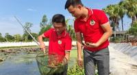 Nông dân bảnh trai lập công ty chỉ để nuôi ốc nhồi đặc sản quy mô lớn nhất tỉnh Thanh Hóa