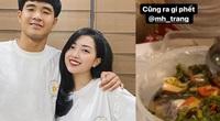 CLIP: Hà Đức Chinh được bạn gái chăm sóc tận... chân răng