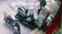Tài xế công nghệ lao xe máy vào kẻ trộm xe SH