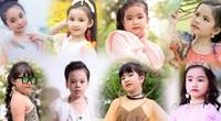 Những bạn nhỏ đáng yêu trong làng thời trang Việt