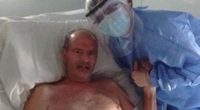 Người đàn ông đã chết vì COVID-19 'trong vài phút' chia sẻ về trải nghiệm hãi hùng