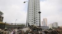 Hà Nội: 3 tòa chung cư bị bỏ hoang, trở thành nơi tập kết rác thải