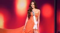 """Rò rỉ clip hậu trường tập xoay người """"thần thánh"""" của Khánh Vân tại Miss Universe 2020"""