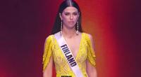 Loạt thí sinh thi Bán kết Miss Universe 2020 gặp sự cố suýt vấp ngã, để lộ chi tiết kém duyên