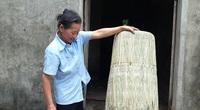 Độc đáo làng nghề chằm áo tơi ở Hà Tĩnh