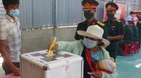 Người dân 6 xã biên giới Quảng Nam háo hức vào ngày hội bầu cử sớm