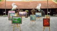 Tặng 108 bức tranh sen cho các Phật tử trong mùa Phật đản 2021