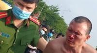 Bắt nóng tại hiện trường nghi phạm cướp đâm trọng thương tài xế taxi