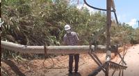 Kon Tum: Giông lốc làm tốc mái nhà dân, hư hỏng nặng hệ thống điện
