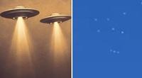 UFO xuất hiện trên bầu trời thành phố Salt Lake