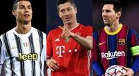 Chiếc giày Vàng châu Âu 2020/21: Ronaldo và Messi chào thua Lewy