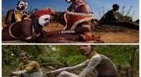 Châu Phi: Choáng với tục lệ đàn ông bộ tộc Karo tự rạch thân thể tạo sẹo để thể hiện lòng dũng cảm