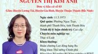 Ứng cử viên ĐBQH tại Bắc Ninh, bà Nguyễn Thị Kim Anh: Sẽ tập trung thúc đẩy xây dựng nông nghiệp công nghệ cao