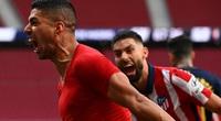 "Atletico Madrid hạ Osasuna, HLV Simeone đưa Luis Suarez ""lên mây xanh"""