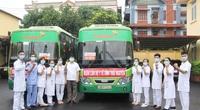 Thái Nguyên cử 51 cán bộ y tế hỗ trợ Bắc Giang chống dịch Covid-19