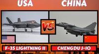 Điều gì xảy ra khi F-35 Mỹ và J-10 Trung Quốc xông vào hỗn chiến?
