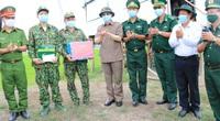 Tân Bí thư Tỉnh ủy An Giang khảo sát công tác phòng, chống dịch bệnh Covid-19 tuyến biên giới