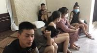 """Nhóm 12 nam nữ thanh niên mở """"tiệc ma túy"""" ở khách sạn, công an bắt tại trận"""