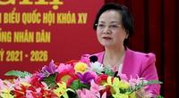 Bộ trưởng Nội vụ Phạm Thị Thanh Trà khẳng định sẽ có giải pháp cụ thể với kiến nghị của dân nếu trúng cử ĐBQH