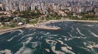 """Thổ Nhĩ Kỳ """"tuyên chiến"""" với """"thảm họa chất nhầy"""", cứu vùng biển lãng mạn Marmara"""