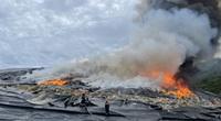 Cháy tại bãi rác lớn nhất Đà Nẵng