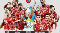 Xem trực tiếp Áo vs Bắc Macedonia trên VTV6