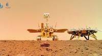 Những hình ảnh thú vị được gửi về từ tàu thám hiểm sao Hỏa của Trung Quốc