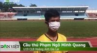 CĐV gửi lời chúc tới Đội tuyển Việt Nam trước trận cuối vòng loại thứ 2 gặp UAE